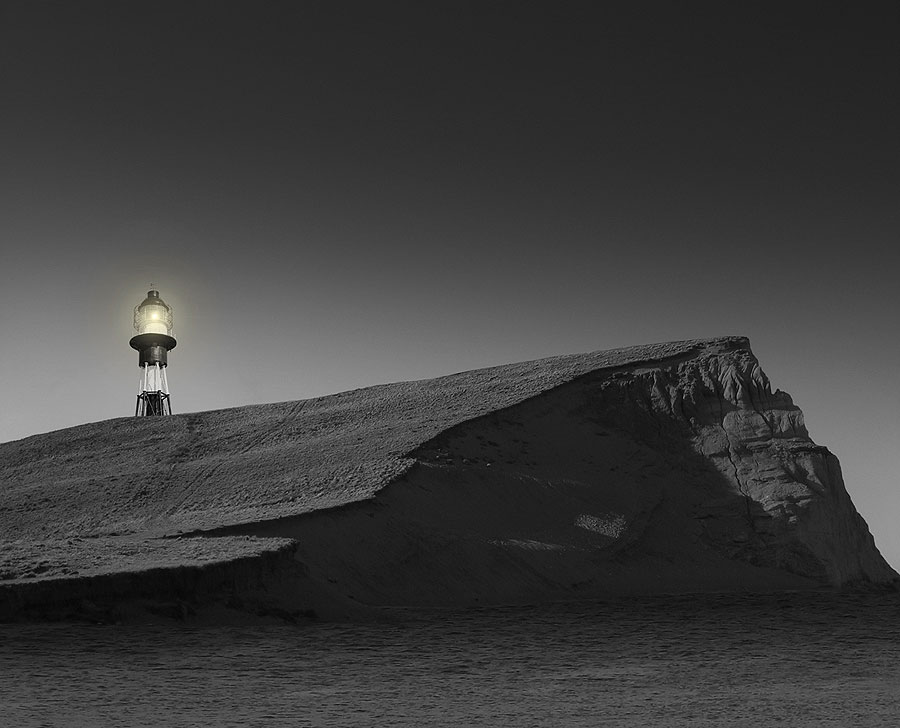 Cabo Virgenes Lighthouse. Strait of Magellan, Santa Cruz, Argentina