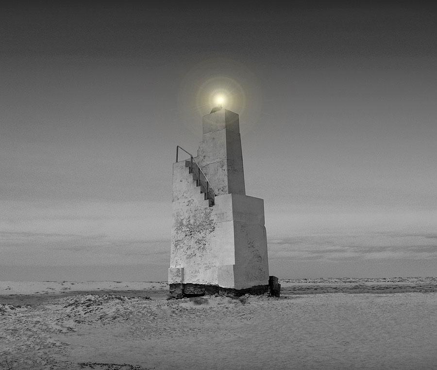 Ponta do Sinó Lighthouse. Isla de Sal, Cabo Verde