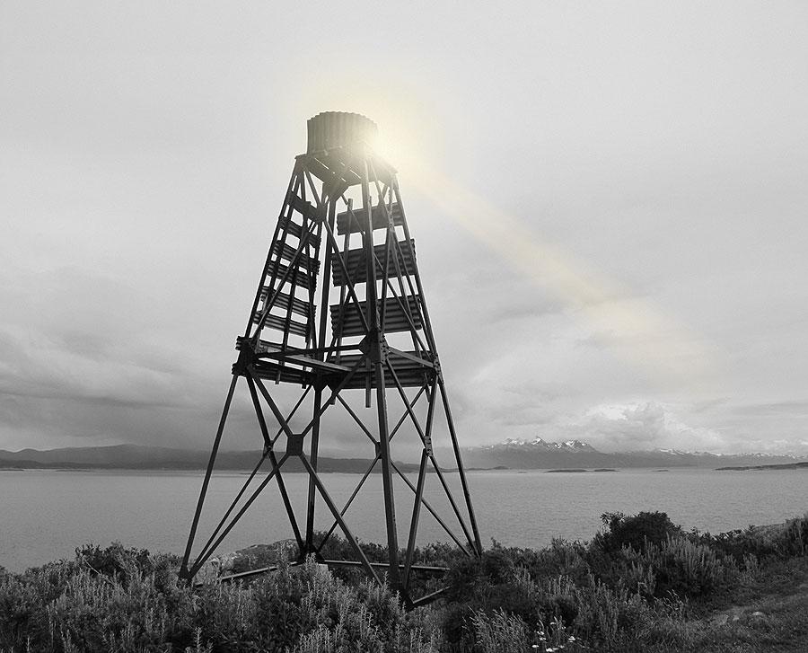Ushuaia Tower. Beagle Channel, Ushuaia, Argentina